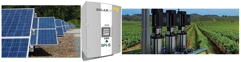 Solaropia SPI-I Solar Irrigation Pumps Header